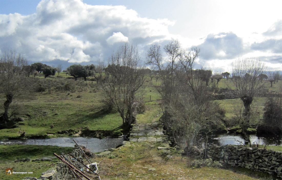 Durius Aquae: La puente Nueva, Sanchón de la Ribera