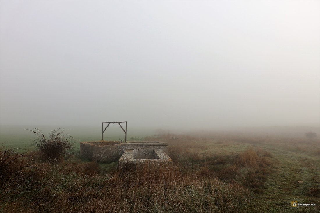 Durius Aquae: Pozo de Valdesamar en lo alto del páramo