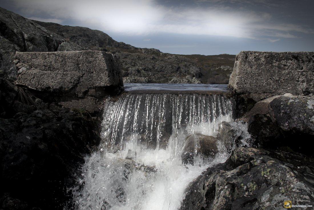 Desagüe de la Laguna de Sotillo de Sanabria