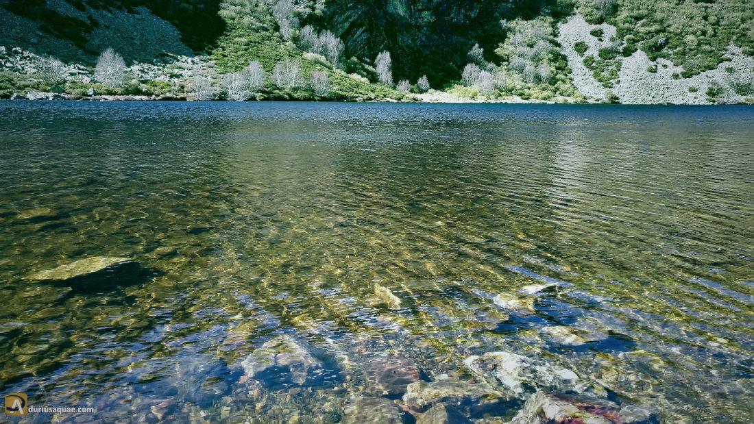 Las aguas del Lago de Truchillas