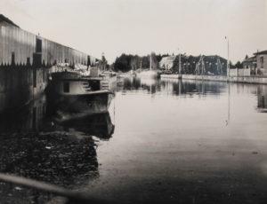 Dársena del Canal de Castilla (foto encontrada por la red)