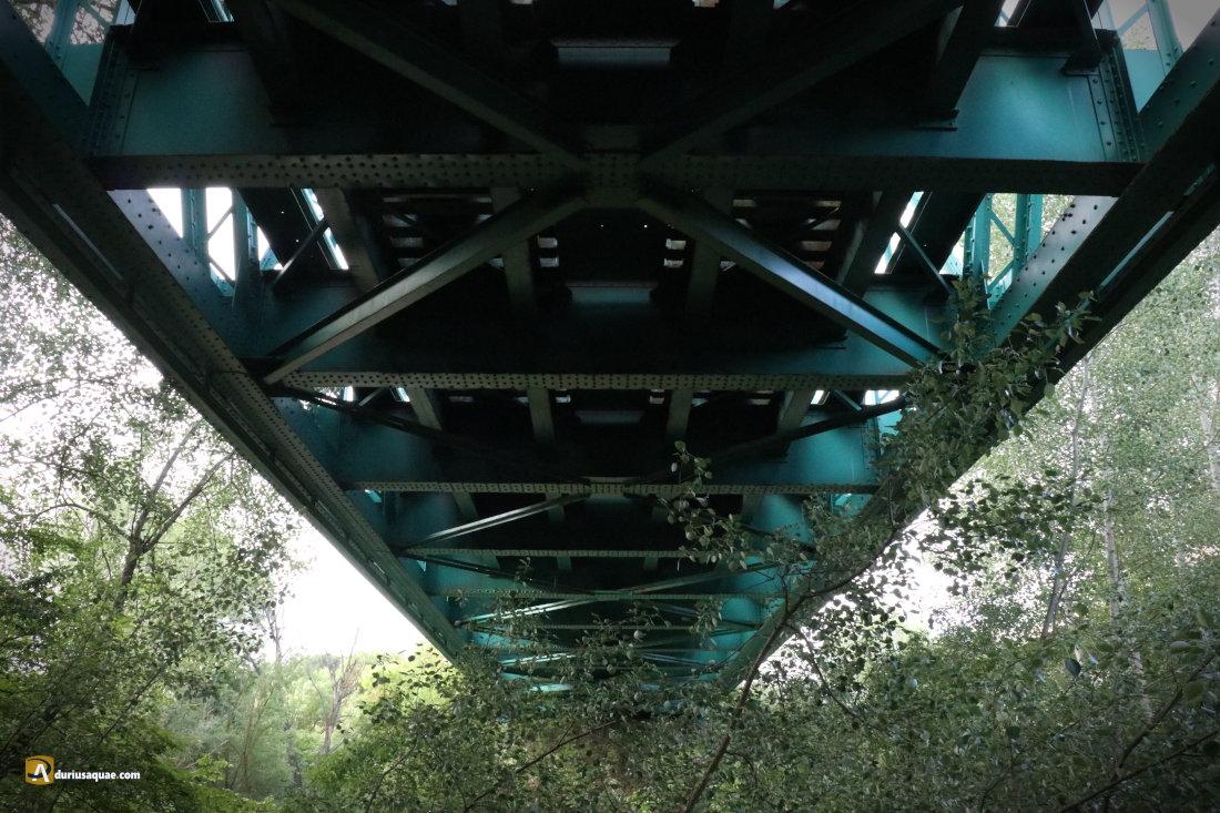 Durius Aquae: Puente de Hierro sobre el Duero