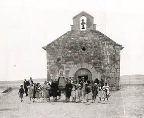 Ermita de la Virgen del Rosario, Fuensaldaña