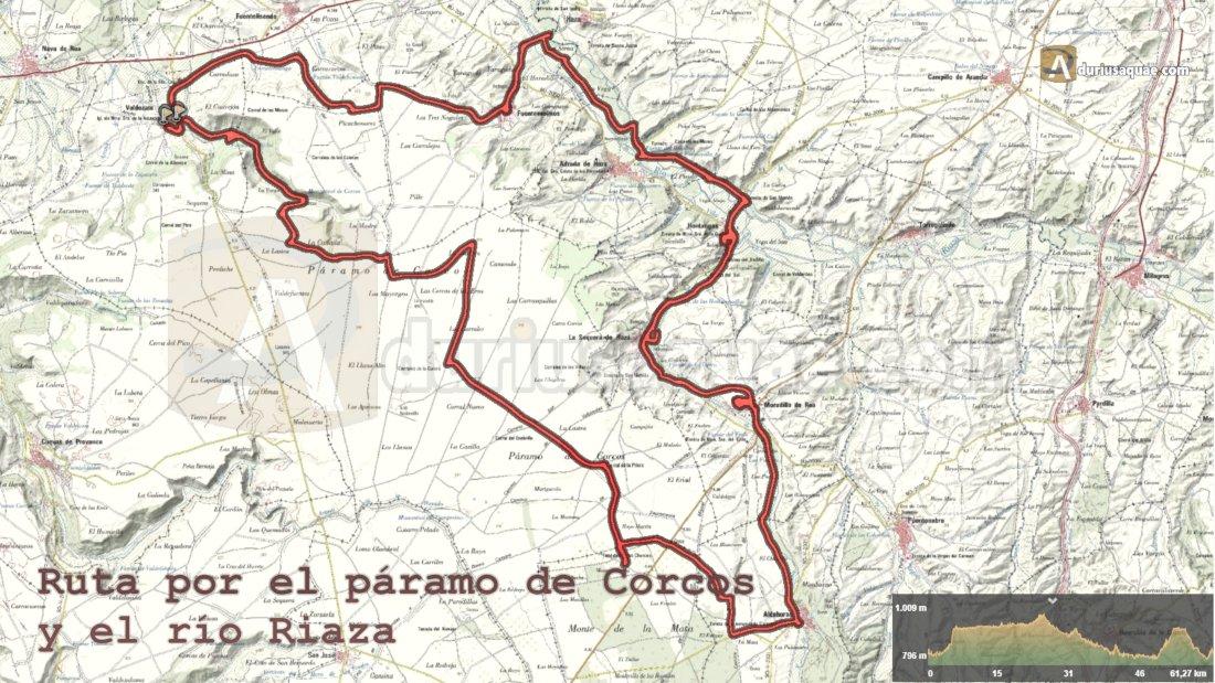 Aquí el track de Wikiloc del Páramo de Corcos