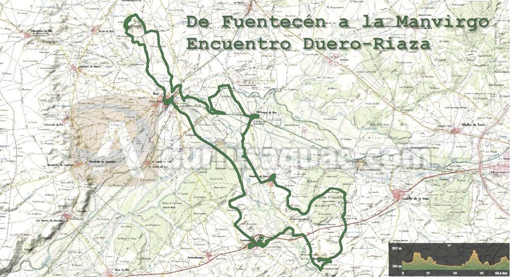 Mapa Ruta Riaza