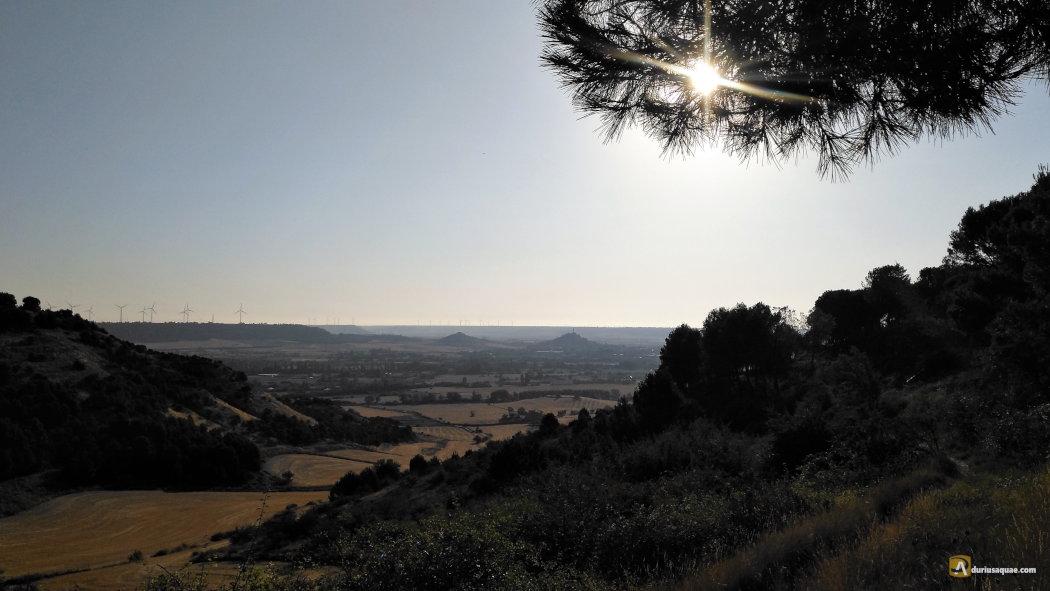 Palencia desde el páramo