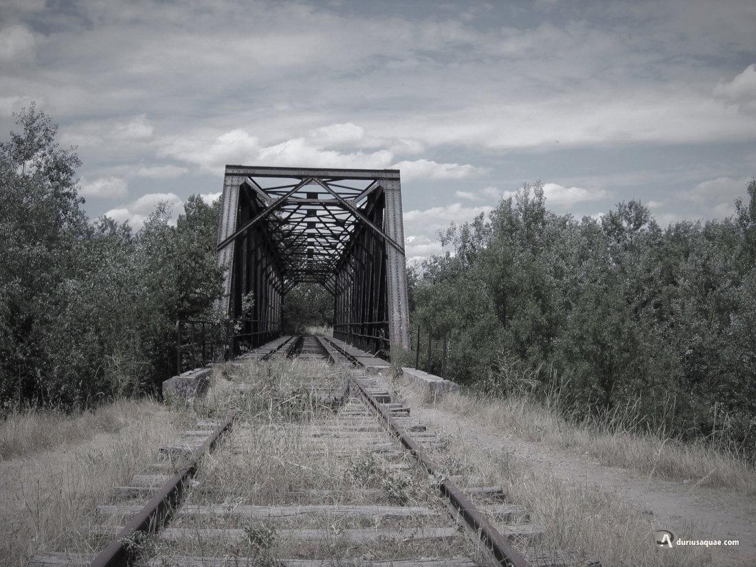 Puente sobre la línea de Ariza