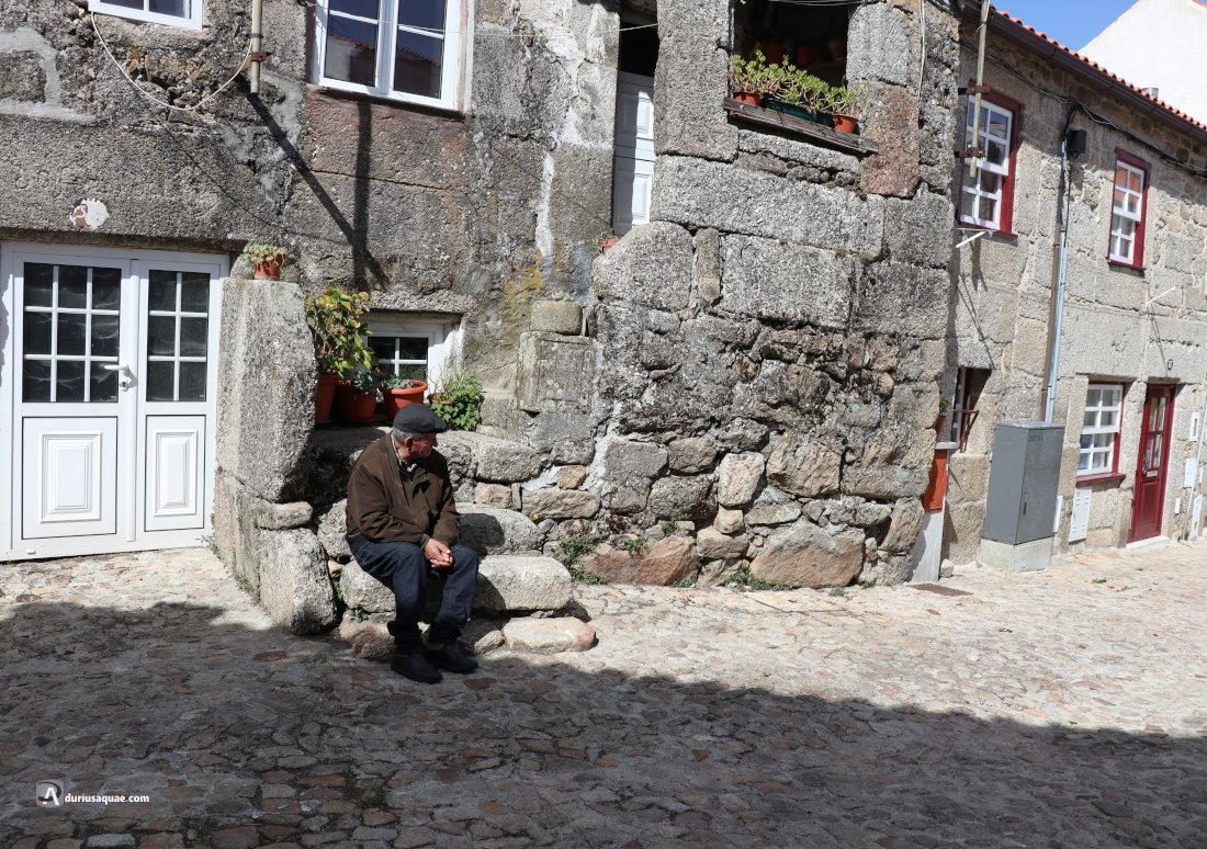 Guarda, calles del barrio hebreo