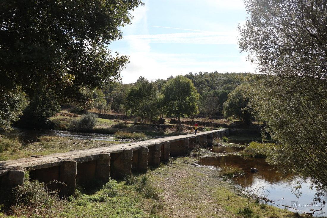 El río Coa en el distrito de Guarda