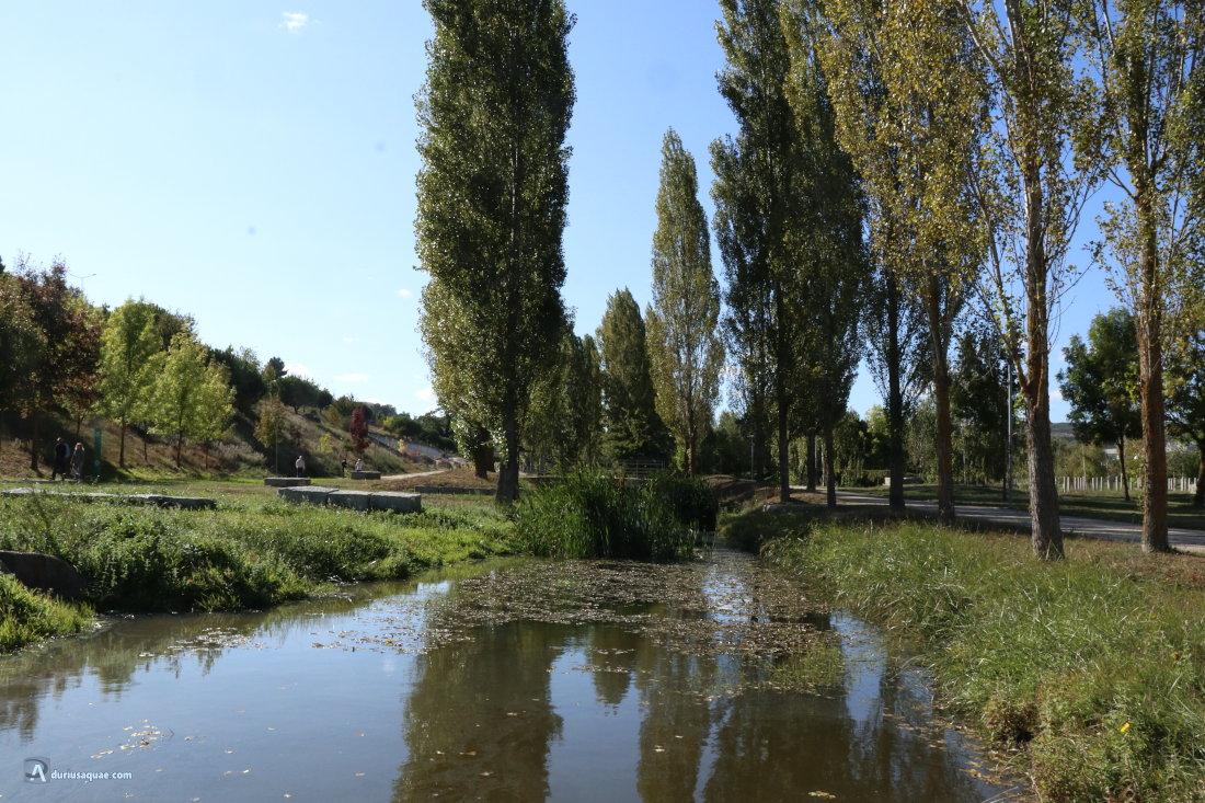 Parque del río Diz, Guarda, Portugal