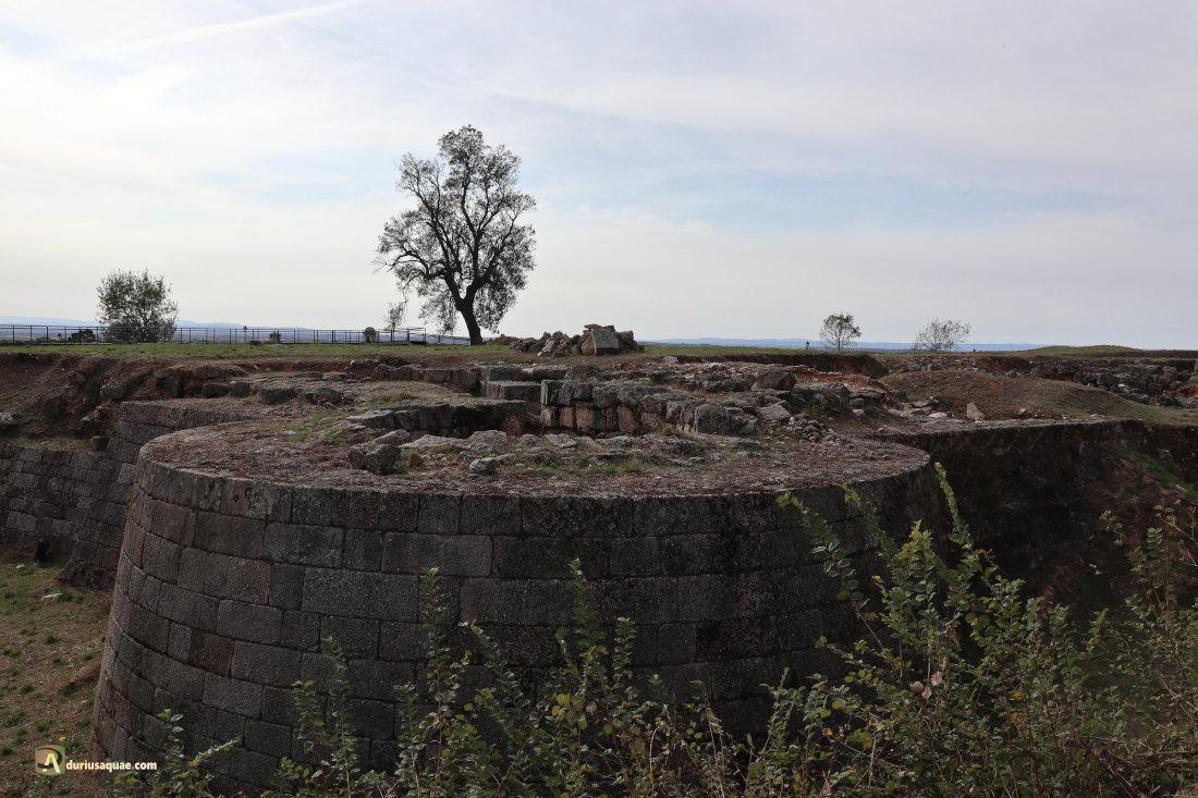 Castillo medieval de Almeida que voló por los aires
