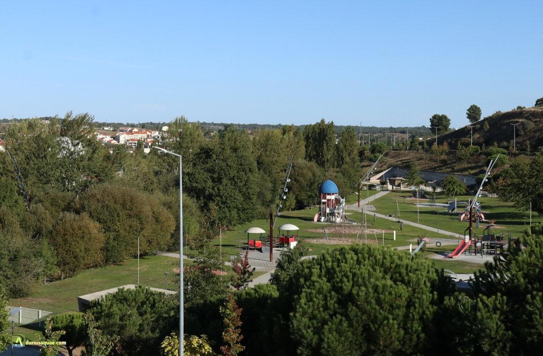 Parque del río Diz en Guarda