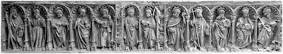 Durius Aquae: Apóstoles en el templo de San Juan Bautista