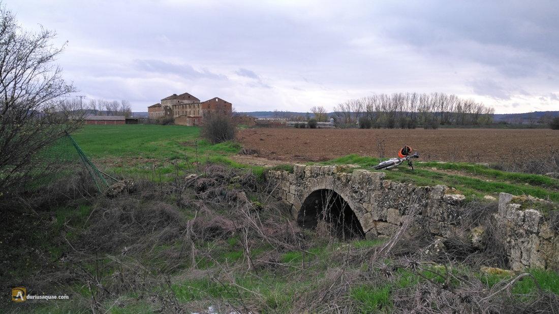 Puente sobre el Sequillo Viejo en Tordehumos