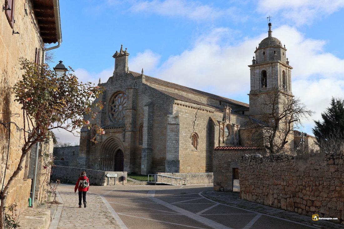 Castrojeriz, Santa María del Manzano