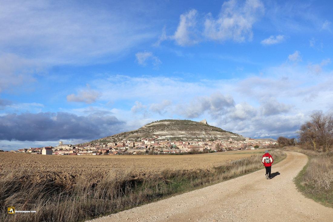 Castrojeriz en el valle del Odra