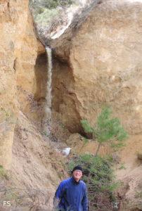 Una cascada en Valladolid