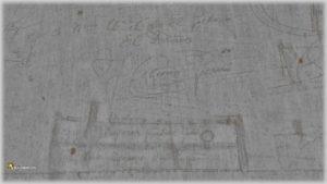 Canal de Castilla, dibujos de las barcas probablemente realizados por barqueros