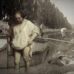 Historias en blanco y negro del Canal de Castilla: El barquero y la lavandera