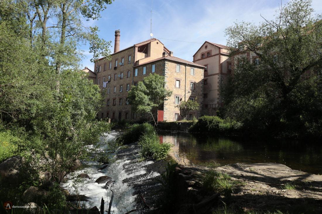 Segovia, fábrica de harinas de Carratero