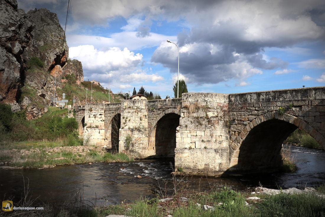 Puente Barrio en Cervera de Pisuerga