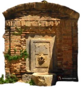 aguas y sombras de Segovia, fuente de la Canaleja