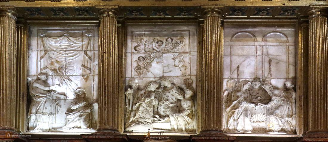 Retablo de alabastro colegiata de San Luis