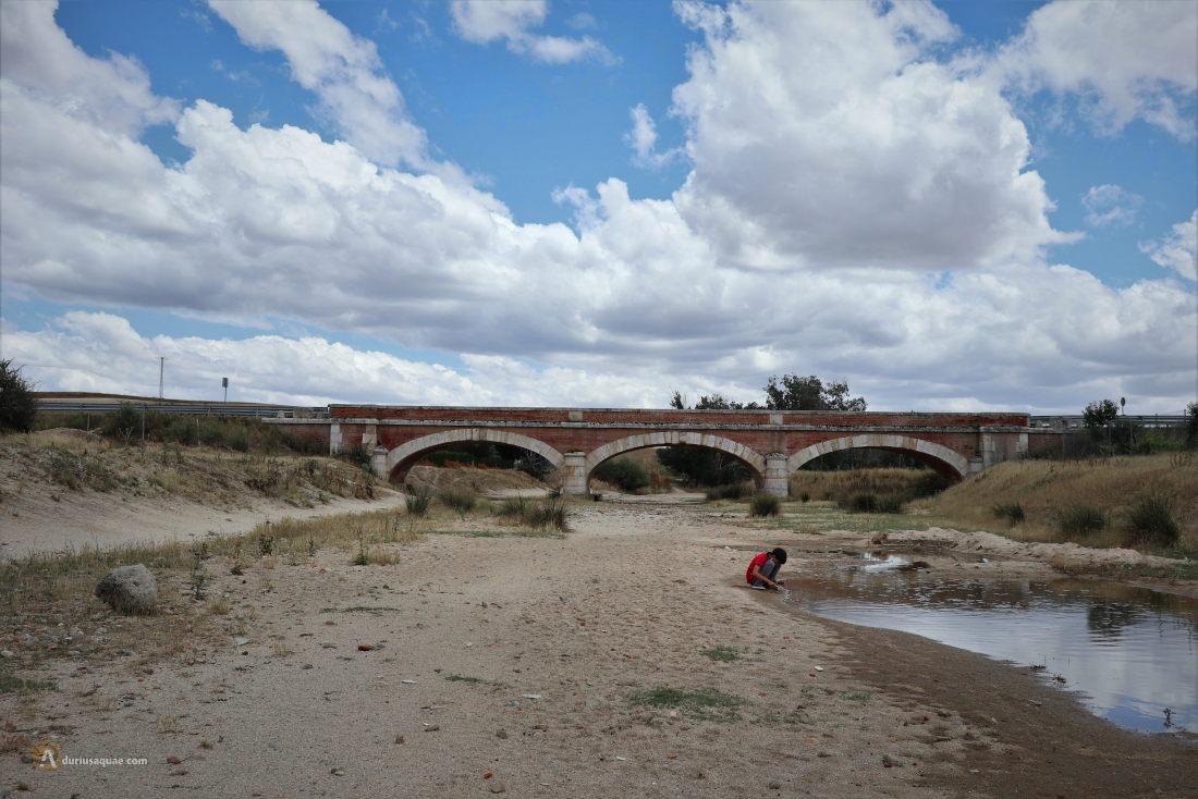 Charco en el río Trabancos