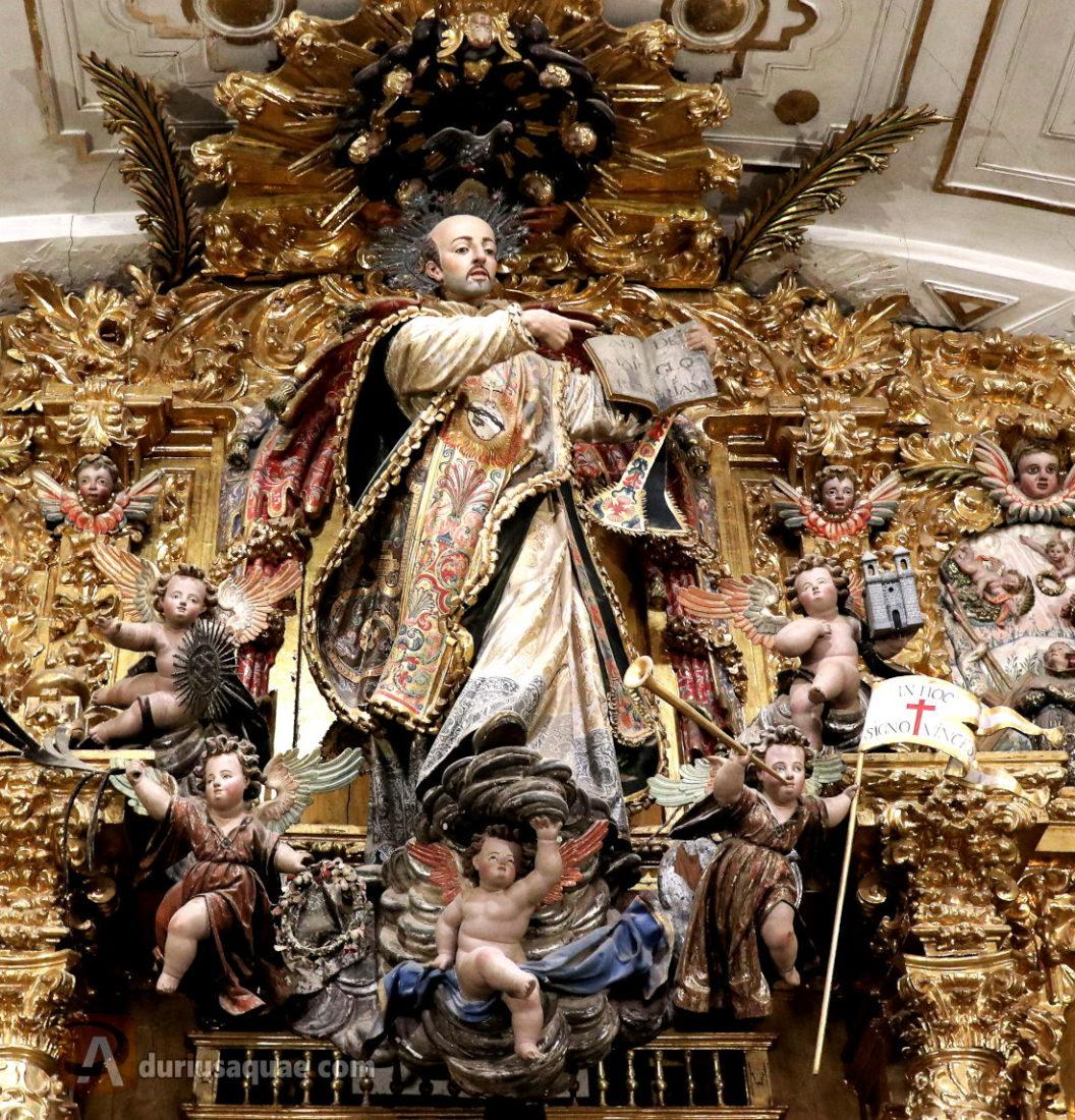 San Ignacio en la sacristía del Noviciado