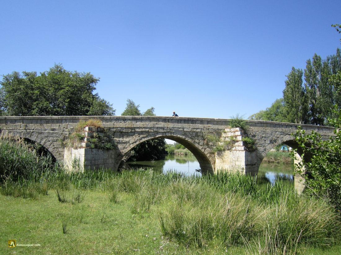 Husillos, puente sobre el Carrión
