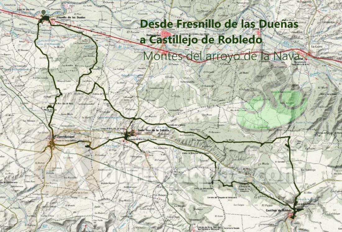 Fresnillo de las Dueñas - Castillejo de Robledo